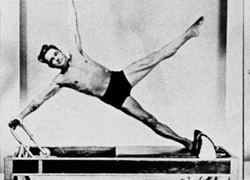 Joseph Pilates sur machine