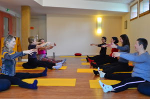Spine twist and Saw - Cours collectifs Respiration Pilates