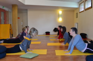 Swan dive - Cours collectifs Respiration Pilates