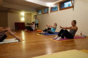 Travail des abdominaux profonds en Pilates