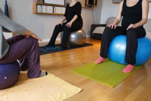 Cours particuliers de femmes enceintes en Pilates